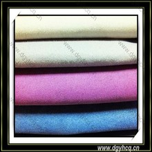 Slap-up microfiber suede/ synthetic suede leather/ artificial glove leather