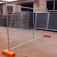 Concrete euro fences Temporary Fence Panel Movable Fencing