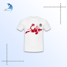 Wholesale custom all over print brand fashion compressed t-shirt