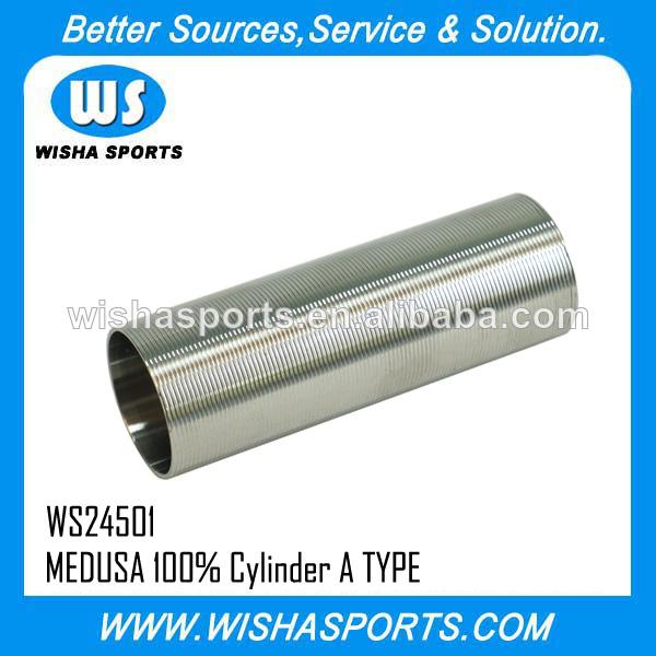 <span class=keywords><strong>Medusa</strong></span> airsoft acero inoxidable aegs 100% cilindro de tipo a