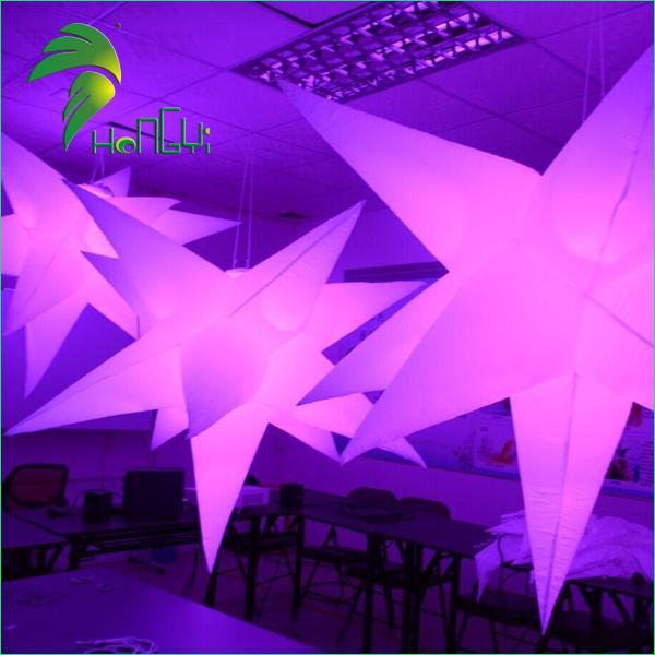 led lighting star shaped balloon (6)