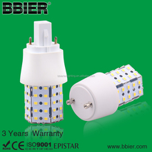 High lumen CFL replaced smd e26 6w marine led ww2700-3800k