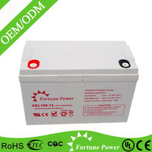 High performance 12v 100ah lead acid battery for green energy resource