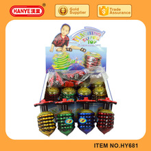 Chain Line Flashing Light Music Spinning Top Toy Series