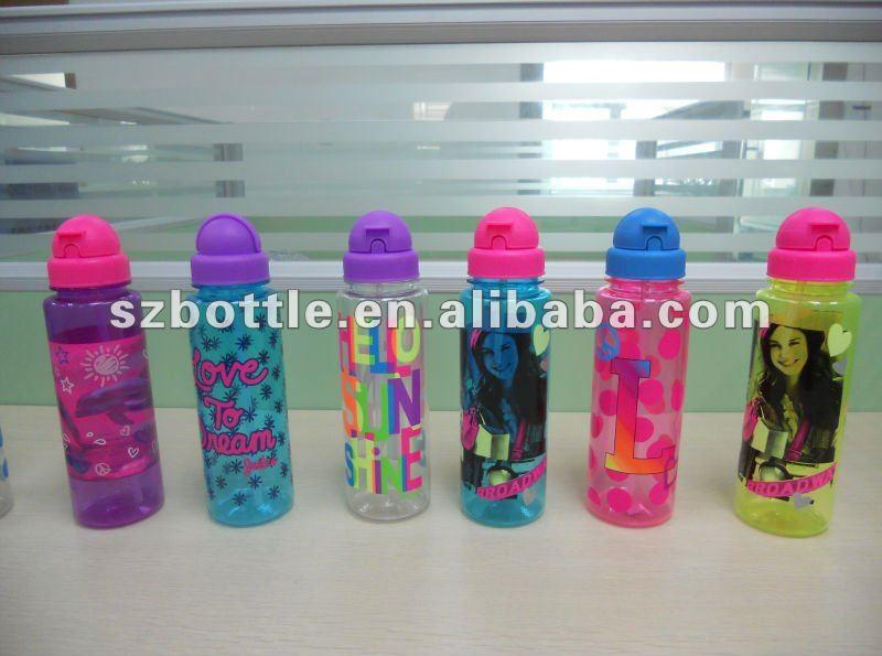 Crianças escola garrafas de água