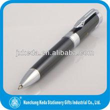 2015 factory promotional cheap gift elegant black ball pen