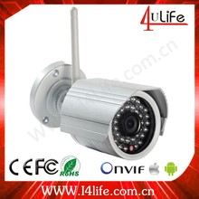 Low cost 720P outdoor hd wireless ip camera support ONVIF wifi