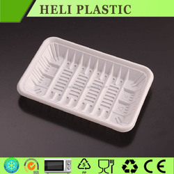 Hot sale Plastic blister fruit /meat tray with factory price