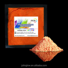 High Quality Pink Red Glow Color Photoluminescent Powder Pigment