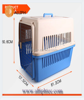Airline Pet cage Plastic Pet Dog Travel Cage