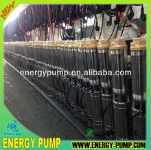 100QJ8 series best submersible pump lowest price for deep well pump single phase for family use