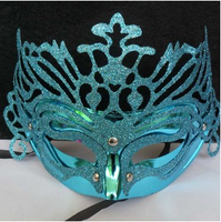 Colorful plastic halloween dress masquerade ball eye mask