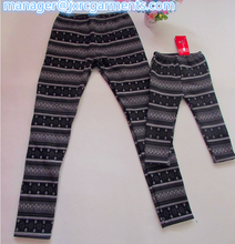 Home Wear Winter thermal pants printing polar fleece BSCI 2015