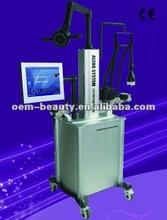 2012 best selling vacuum cavitation+tripolar rf+rotating fatness rf slimming machine F017 sales promotion