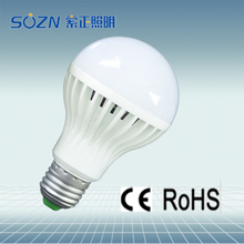 High brightness energy saving SMD 5730 B22 E27 e14 3W.5W,7W.9W,12W,18W led light bulb with CE&RoHS certificate
