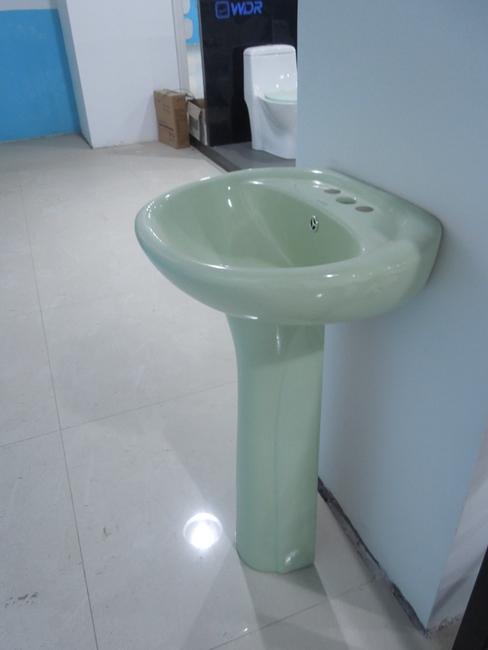 Chaozhou porcelana pia do banheiro de canto W7010Pias para banheiroID do pr -> Pia De Banheiro Porcelana