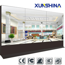 Full HD 4.9mm ultra narrow bezel 47 inch lcd video wall with brightness 450nits