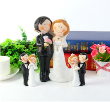 Fashionable New Style Polyresin gay cake topper B-BHQ-0008