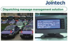 GPS taxi meter and dispatch screen gps tracking taxi fleet taximeter