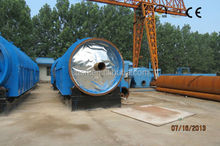 Pyrolysis oil waste tyre recycling equipment with CE ISO