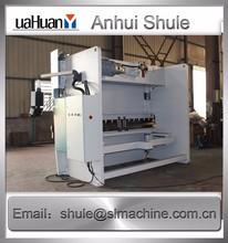 WC67Y Digital display and manual tuning metal sheet round bending machine