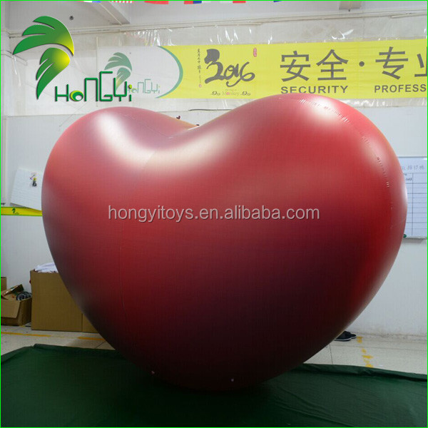 inflatable red heart model (6)