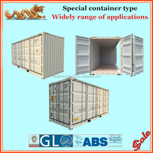 Non - used 20ft side loading container price