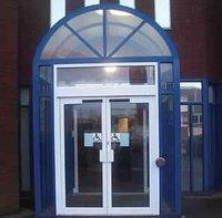high quality upvc swing door with top grade swing door opener