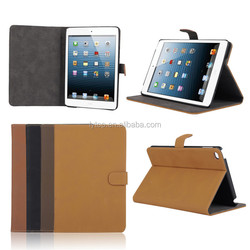 Retro Vintage Wallet PU Leather Case For iPad Mini 4