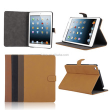 Retro Vintage Wallet PU Leather Case For iPad Mini 4