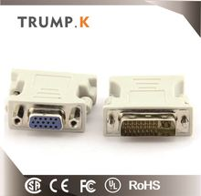Manufactured high speed vga to dvi adapter male to female