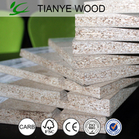 Melamine faced chipboard/particle board price good