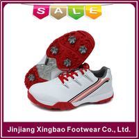 2016 Waterproof Golf Shoes Mens Winter Walking Boots With Removeable Metal Spikes Warm Winter Golf Shoes Free Shipping