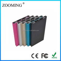new design wire drawing power bank 8000mah powerbank portable charger for iphone6