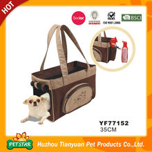 Side and Top Open with Pocket Pet Transport Bag