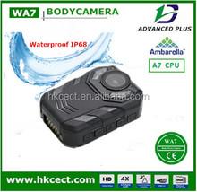 CCTV security worn 16mega AP function easy to body worn police camera recorder