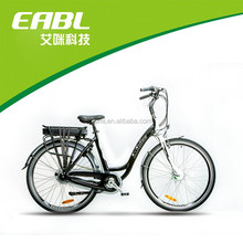 China Supplier wholesale green electric city bike 700c aluminium alloy ebike motor