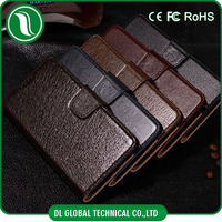 Genuine mobile phone leather case for iphone 6 real cow leather material