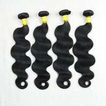 Unprocessed wholesale grade 6a brazilian 100% virgin remy hair weft body wave hair extensions