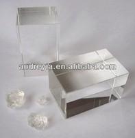 high quality blank k9 crystal glass block