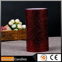 most popular christmas wireless candle white pillar candles