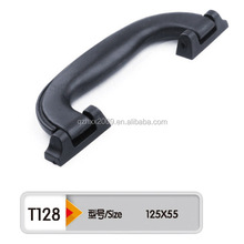 turnable,revomable ,durable pe black plastic handle for bags,toys or trolly cases,valve handle plastic cover