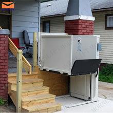 Hydraulic wheelchair lift/handicapped equipment