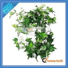 Wholesale 6 Ft Green Silk Decorative Artificial Ivy (J9015)