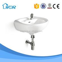 Wall mount basin ceramic washing bathroom sanitaryware