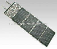 40W PET laminated folding monocrystalline solar panels