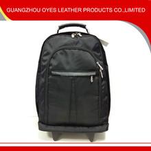 1680D nylon travel backpack on wheels