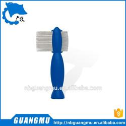 dog flea comb dog beauty comb wood handle comb for longhaired dogs GM 407