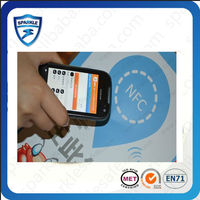 Hot sell 13.56mhz epoxy ntag203 rfid nfc tag for galaxy s4