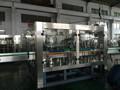 botella de vidrio lavado de jugo de llenado y taponado de la máquina